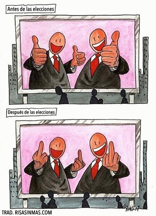 Antes y después de las elecciones