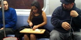 Aprovechando el tiempo en el metro