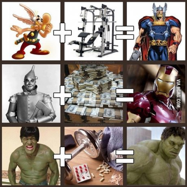 Así se hacen los Superhéroes