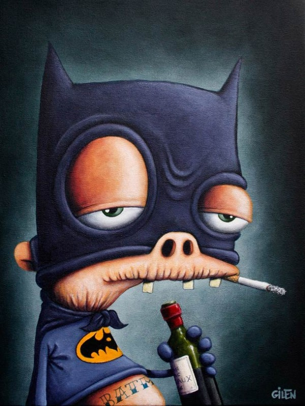 Batman decadente