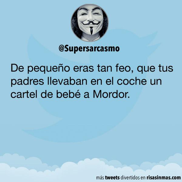 Bebé a Mordor