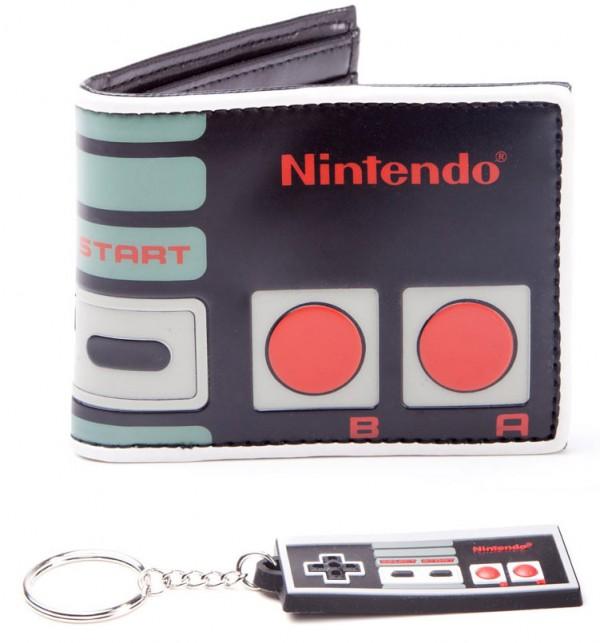 Billetera y Llavero Nintendo