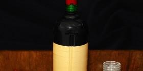 Botella de vino de LEGO
