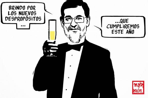 Brindis navideño de Mariano Rajoy