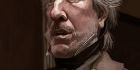 Caricatura de Alan Rickman