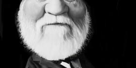 Caricatura de Andrew Carnegie