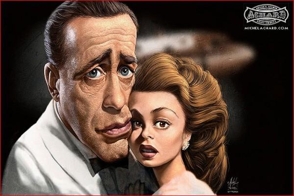 Caricatura de Casablanca