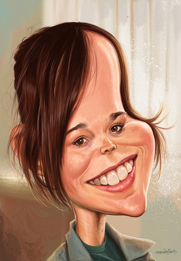 Imágenes divertid... Ellen Page
