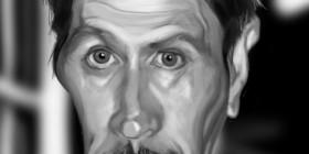 Caricatura de Gary Oldman