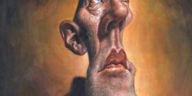Caricatura de Michael Stipe - REM
