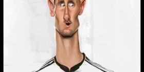 Caricatura de Miroslav Klose