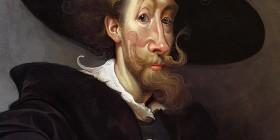 Caricatura de Pedro Pablo Rubens