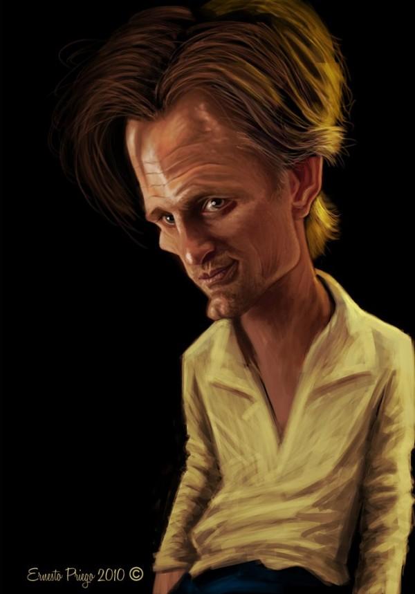 Caricatura de Viggo Mortensen
