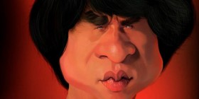 Caricaturas de Jackie Chan