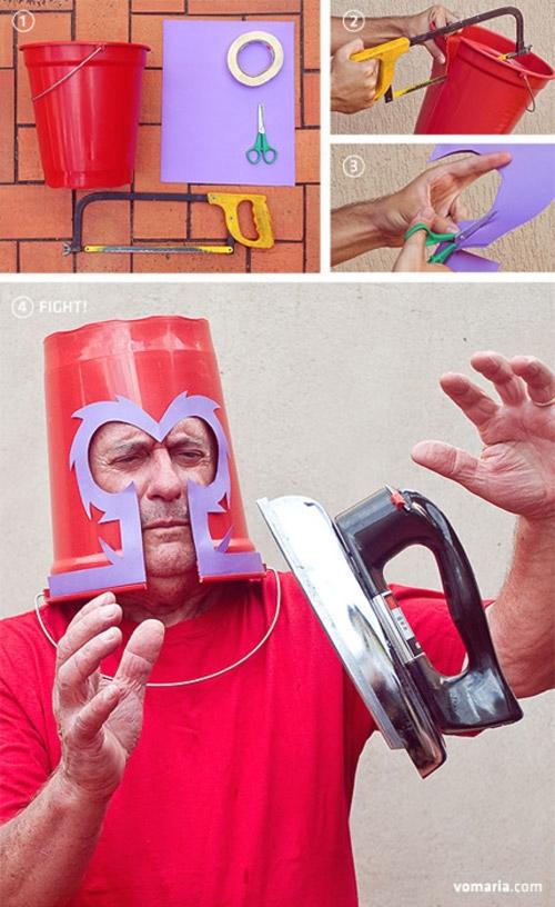Casco casero de Magneto