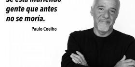 Coelho: se está muriendo gente
