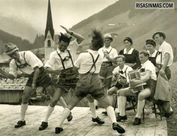 Concierto de rock en el Tirol