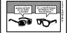 Conversación de gafas