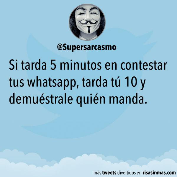 Demuestra quién manda en WhatsApp