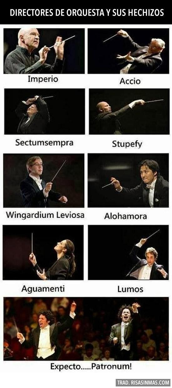 Directores de orquesta y sus hechizos