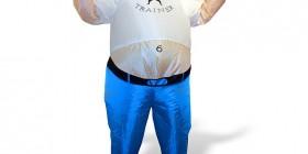 Disfraz hinchable de entrenador personal
