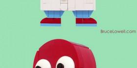 Doctor Zoidberg hecho con LEGO