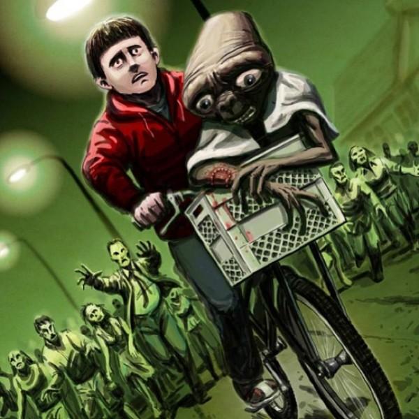E.T. versión zombies