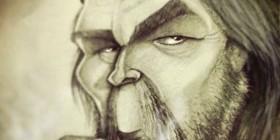 Caricatura de Ernesto Che Guevara