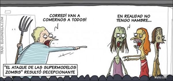 El ataque de las supermodelos zombies