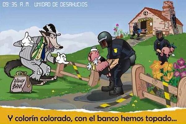 El cuento de los tres cerditos en España