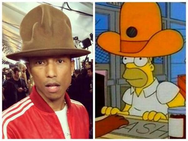 El gorro de Pharrell Williams