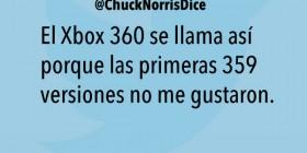 El origen del nombre de la XBOX 360