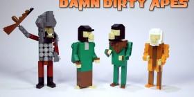 El planeta de los simios versión LEGO