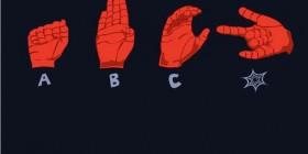 El signo de Spiderman