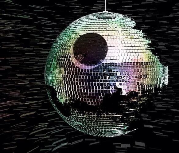Estrella de la muerte versión discoteca