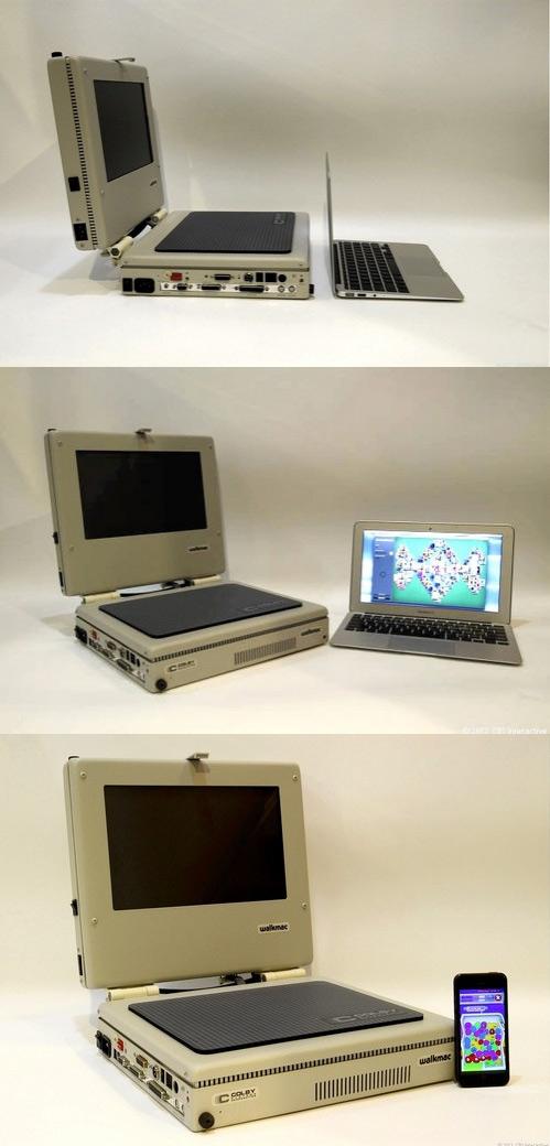 Evolución de los portátiles