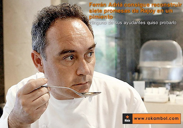 Ferran Adrià y su magia culunaria