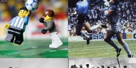 Fotografías famosas recreadas con LEGO