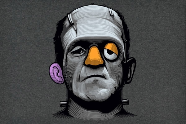 Frankenstein + Mr Potato
