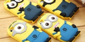 Fundas para iPhone Minions