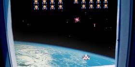 Galaga desde el espacio