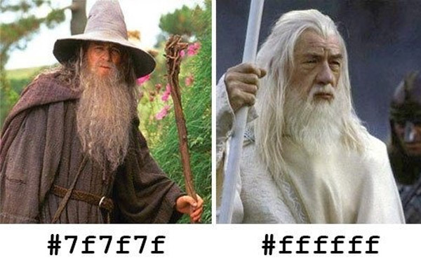 Gandalf en hexadecimal