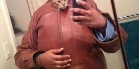 Gatos que se hacen autofotos