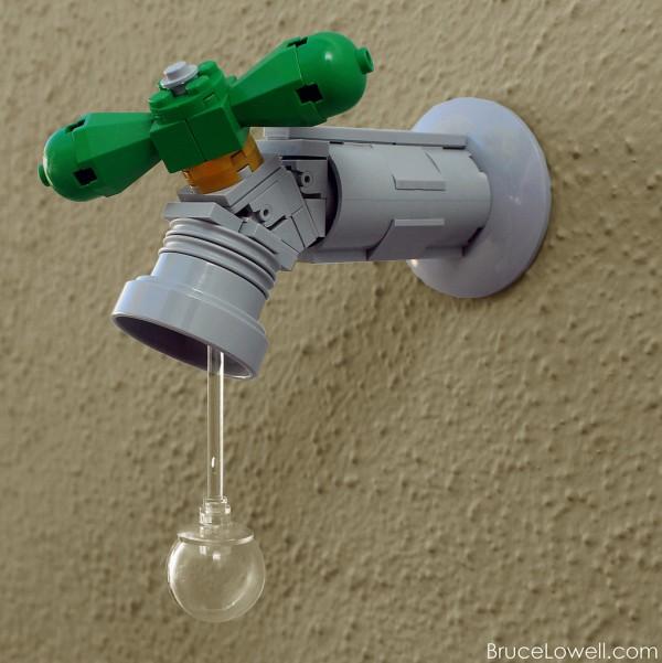 Grifo realizado con LEGO