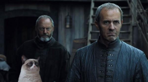 Grumpy cat se une a Juego de Tronos