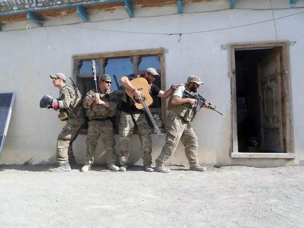 Grupo de asalto en acción