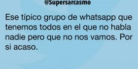 Grupo de whatsapp que tenemos todos