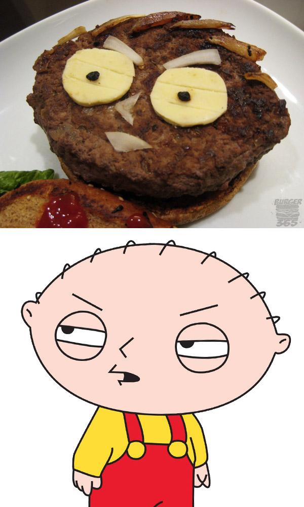 Hamburguesa Stewie Griffin