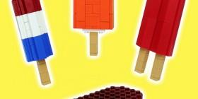 Helados hechos con LEGO