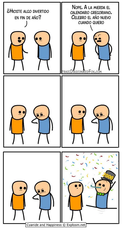 ¿Hiciste algo divertido en fin de año?